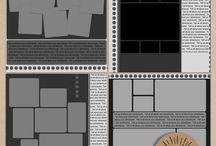 Digital Scrapbooking Templates by Mad Genius Designs