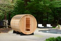 Outdoor Barrel Saunas