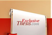 Exclusive Thesis / ExclusiveThesis.com is a unique custom thesis writing company that reflects professionalism, caring about high quality and customer satisfaction.