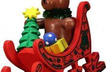 German Wooden Ornaments