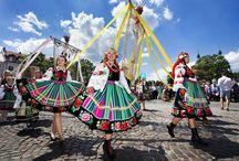 Folkowe Łódzkie / Barwne zwyczaje, tradycje i stroje Regionu Łódzkiego