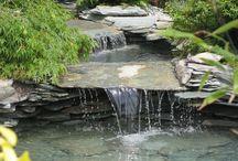 Водопады, фонтаны, водоемы