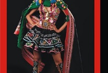 Style: Peruvian flair / The influence of Peruvian style through color and costume design.