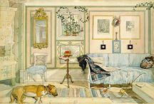 Larsson, Carl (1853-1919, Swedish painter & illustrator) / http://www.carllarsson.se