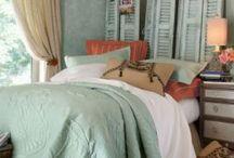 Bedroom aqua