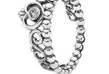 Pandora Princess / Pandora princess rings, charms & jewelry.