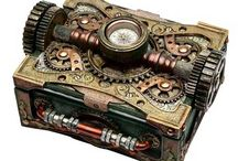 Steampunk inspirations / Steampunk, vintage and industrial style