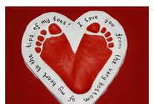 Footprint/Handprint Crafts / Crafts using footprints or handprints