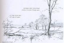 Drawing : landscape