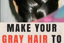 Rid of gray hair