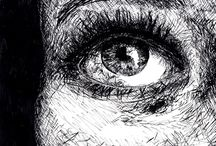 Drawings - Portrait (eyes)