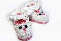 Scarpe bebè - Baby shoes Crochet