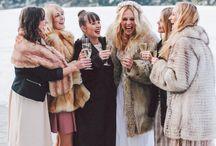 BRIDAL | luxurious wedding faux furs