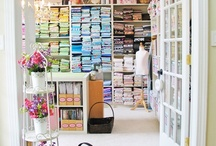 Sewing Studio Ideas / by Molly and Mama