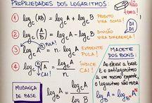 Estudos de Matemática.