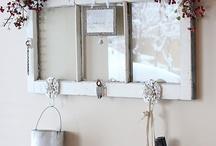 Alte Fensterrahmen / Türrahmen verschönern ❤️