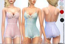 The Sims 4 sleepwear