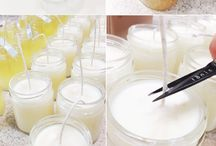diy candle and soap