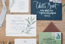 Wedding Stationary / Save the Dates, Invites and Thankyous