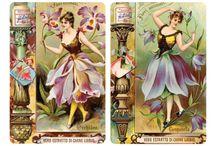 Vintage kaartjes