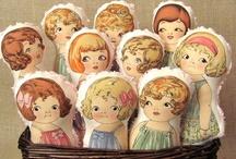 Bonecas de papel / Paper dolls