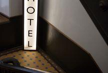 Вывеска отель
