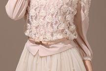Romantic vintage clothing