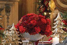 Christmas tabletops