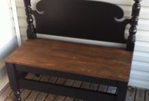 Home projects / bed bench