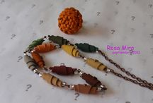 Joyas en piel Rosa Mira /Leather Jewelry Rosa Mira