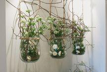 Suspended bell jars