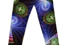 Leggings / Leggings with my designs are now available from Print All Over Me and Redbubble