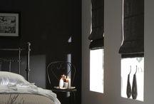 Vouwgordijnen / Inspiratiefoto's vouwgordijnen - meer info vindt u op raamdecoratie.com