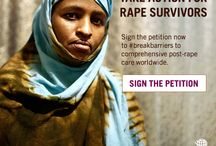 #BreakBarriers for Women Worldwide / FACT: There's a 40-year-old US foreign policy that is harming women & girls worldwide. Take action now to help us #breakbarriers to comprehensive post-rape care.  Sign & share the petition: http://www.globalfundforwomen.org/take-action-for-rape-survivors  / by Global Fund for Women