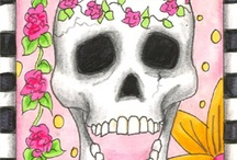 Dia de los Muertos / Day of the Dead Art / by June Van Winkle