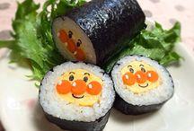 恵方巻き Sushi Roll / Sushi Roll,恵方巻き、飾り巻き寿司