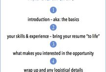 Writing a Cover Letter / Want to get some quick tips on how to write a cover letter?  Click here!