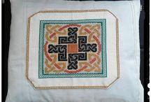 Mandalas / Cojín de mandala en punto de cruz