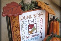 fall decorating / by Katharine Randall