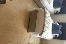 Flooring treated with Jax Oleum / Flooring that has been treated with Jax Oleum