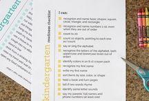 Kindergarten Readiness / Great ideas for preparing kids for kindergarten