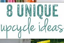 Upcycling Ideas For The Home / Clever upcycling ideas to give old junk a second life: furniture flips, spray paint makeovers and home decor ideas