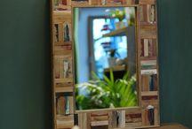 Зеркала / Добавить завершающий штрих в интерьер вашего Дома или офиса возможно  с помощью больших настенных или напольных зеркал