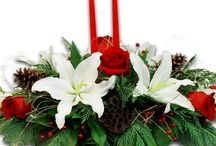 Classic Holiday Centerpieces