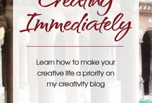 Creativity Blog / These pins all originate from The Creative Commitment Blog - an online space dedicated to information, inspiration and strategies to help foster and expand our creativity. COMMIT CREATE CONNECT
