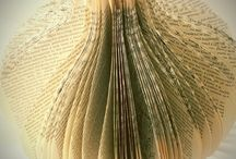 Book Art / Books, art, recycle book pages and books