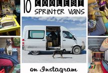 Sprinter surf van ideas / Brainstorm for a retrofit of a sprinter van