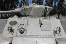 TANK SHERMAN M50 ISRAELE