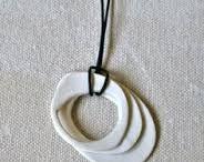 Sieraden klei/porselein - Jewelry clay/porcelain
