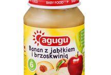 Produkty Agugu / Marka Agugu to rozwiązanie dla sprytnych mam. Nasze słoiczki to wygoda i  przystępna cena w jednym. Oferujemy pyszne desery owocowe  dla dzieci od 6 miesiąca do 2 roku życia.
